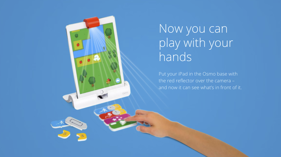Screen shot of play osmo illustration